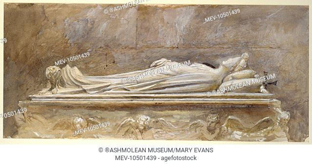 Tomb of Ilaria del Caretto, Duomo, Lucca. John Ruskin