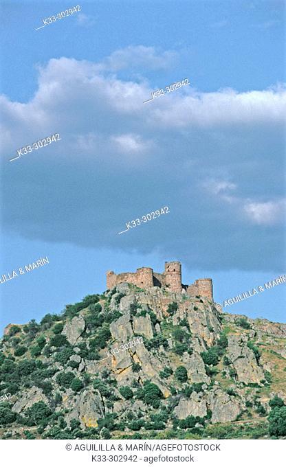 Castle. Capilla. Badajoz province. Extremadura. Spain