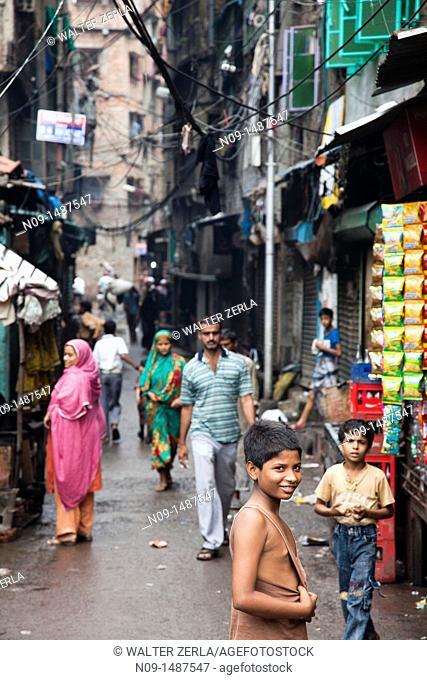Street scene, Calcutta, India