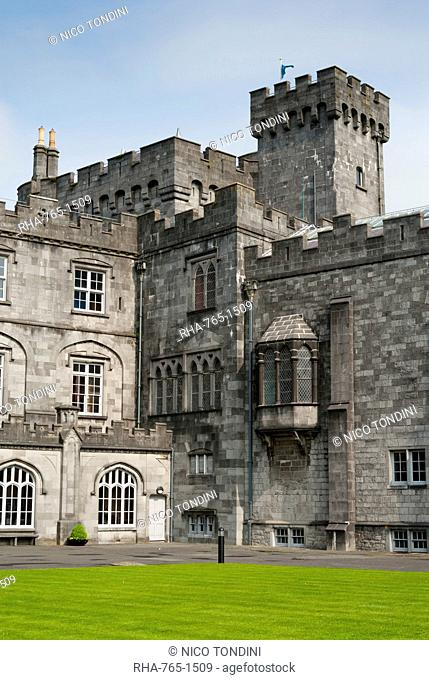 Kilkenny Castle, Kilkenny, County Kilkenny, Leinster, Republic of Ireland Eire, Europe