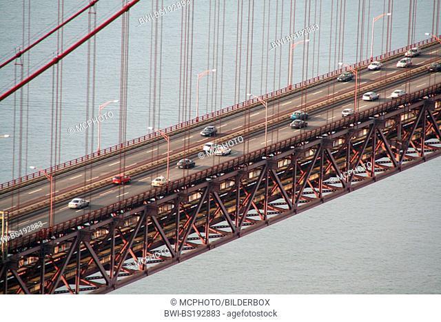 Suspension Bridge Ponte 25 de Abril, Portugal, Lisbon