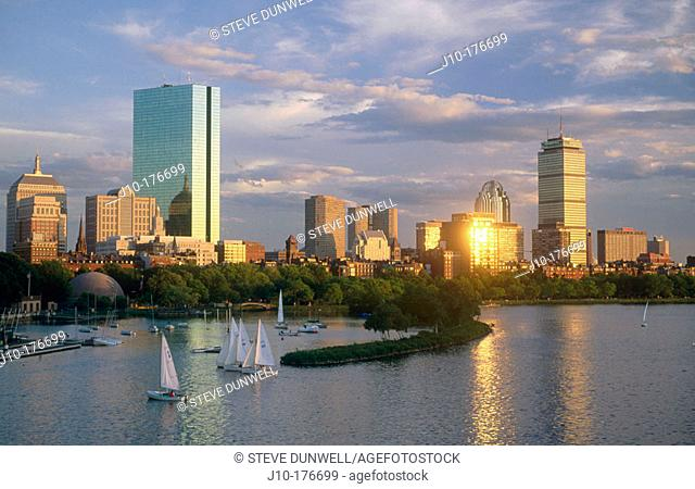 Back Bay. Boston. Massachusetts. USA