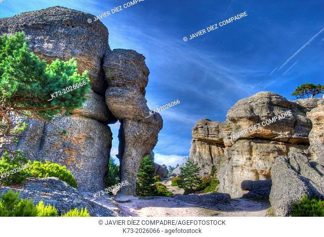 Castroviejo. Duruelo de la Sierra. Sierra de Urbion Natural Space. Soria Province. Castilla y Leon. Spain