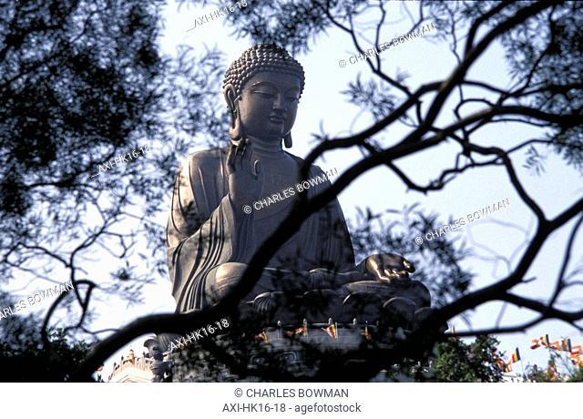 Big Buddha, Po Lin Monastery, Lantau Island, Hong Kong