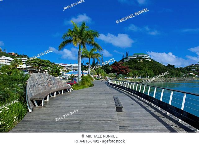Waterfront of Noumea, New Caledonia, Melanesia, South Pacific, Pacific
