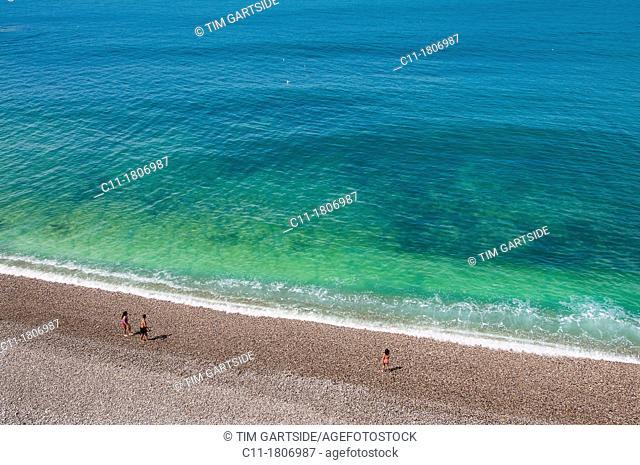 France, Normandy, Coast, Etretat, France, Europe