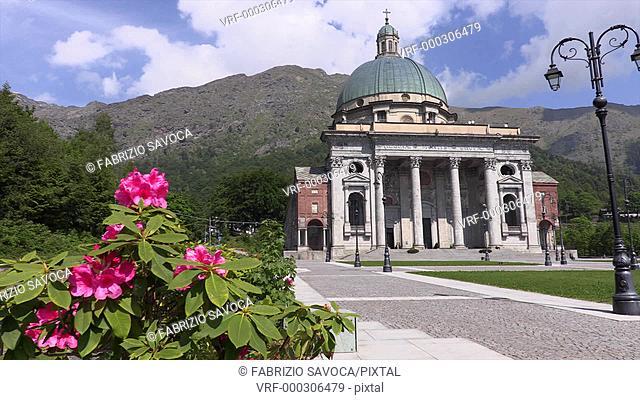Sancturary of Oropa, Biella, Piedmont, Italy
