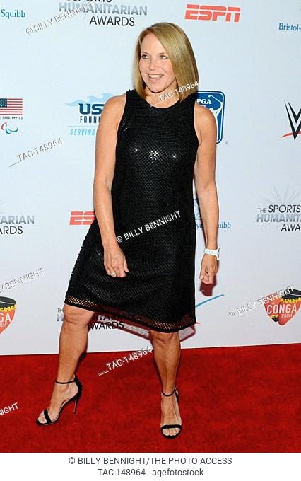 Katie Couric attends the 3rd Annual Sports Humanitarian of the Year Awards at LA LIVE'S The Novo in Los Angeles on July 11, 2017