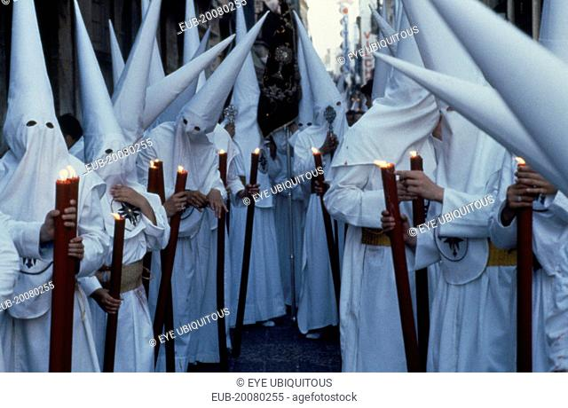 Semana Santa Holy Week penitents