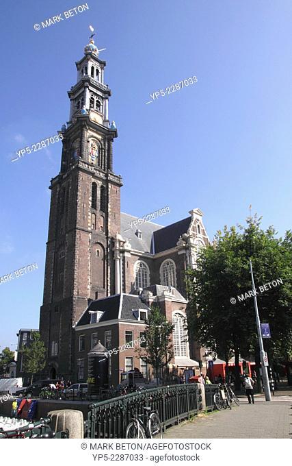 Westerkerk church Amsterdam Holland