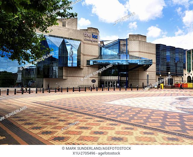 International Convention Centre from Centenary Square Birmingham West Midlands England