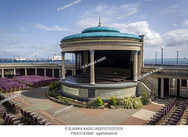 Eastbourne Bandstand, Eastbourne, East Sussex, England, UK