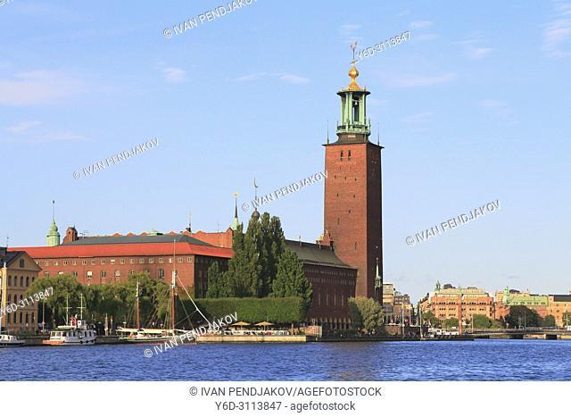 The City Hall, Stockholm, Sweden