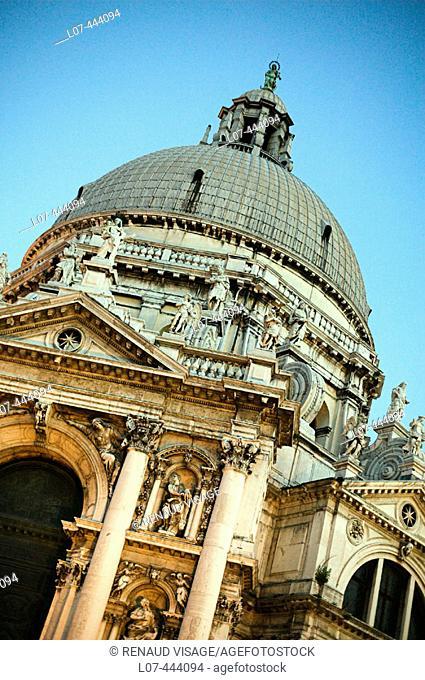 Santa Maria della Salute church. Venice. Italy