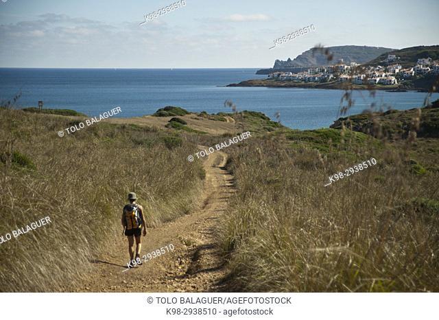 Playa de Ferragut. Minorca, Balearic Islands, Spain