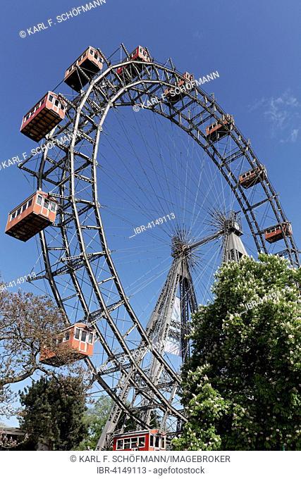 Vienna Ferris Wheel, Prater, Vienna, Austria