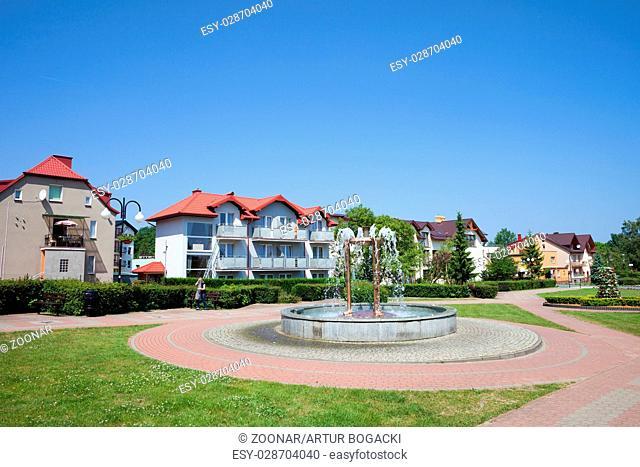 Wladyslawowo Town in Poland