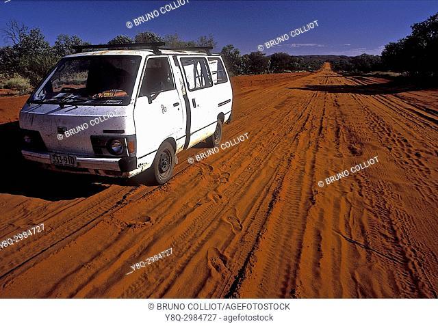 track for wallace rockhole. NT aborigene land, Australia 2000