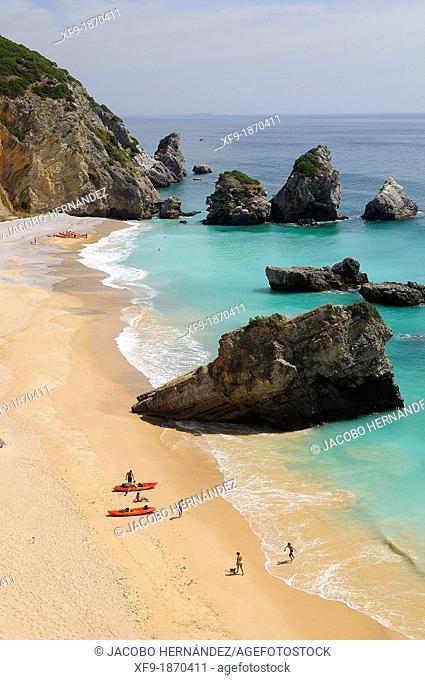 Beach Sesimbra Portugal
