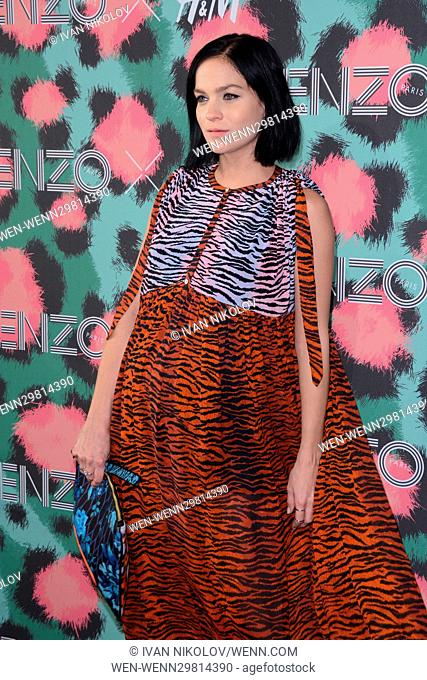 2016 Kenzo x H&M Show at Pier 36 - Red Carpet Arrivals Featuring: Leigh Lezark Where: New York, New York, United States When: 20 Oct 2016 Credit: Ivan...