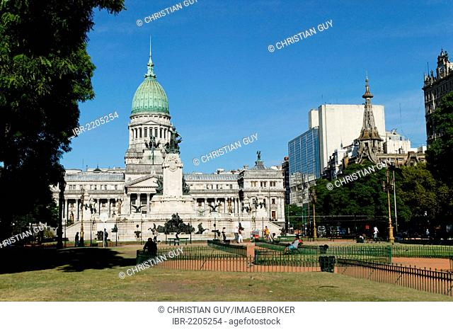 Congress Palace, Buenos Aires, Argentina, South America
