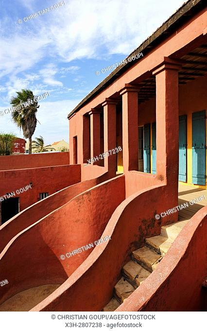 House of Slaves, Ile de Goree (Goree Island), Dakar, Senegal, West Africa