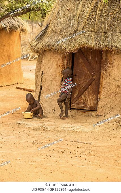 Young Himba Boys