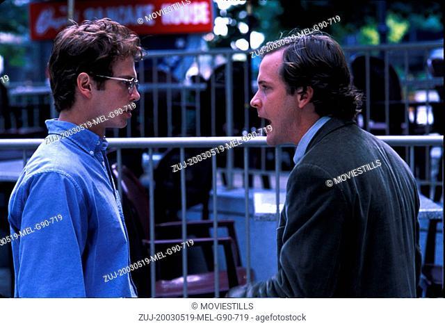 RELEASED: Aug 10, 2004 - Original Film Title: Shattered Glass, Pictured: HAYDEN CHRISTENSEN, PETER SARSGAARD (Credit Image: © Lions Gate Films/Entertainment...