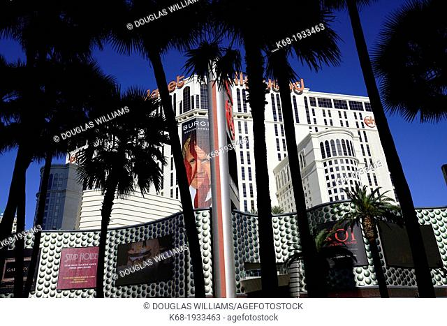 Planet Hollywood hotel and casino on the Strip in Las Vegas, Nevada, USA