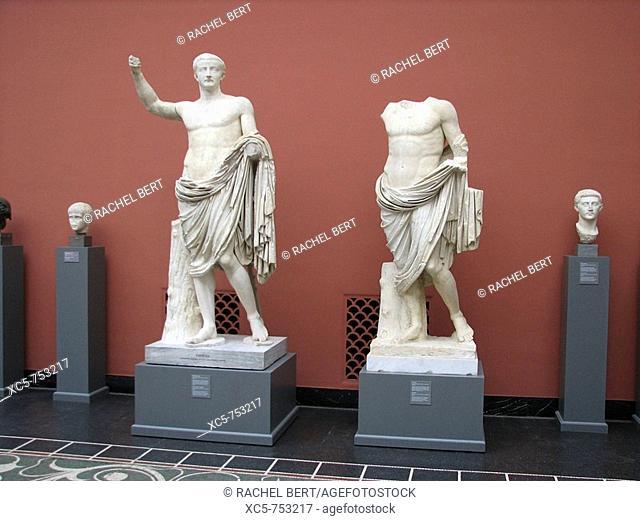 Tiberius Claudius Nero (ECB 42 - 37 CE). Ny Carlsberg Glyptotek, Copenhagen, Denmark