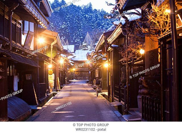 tourist resort of Japan