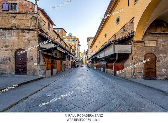 Italy, Tuscany, Florence, Old town, alley