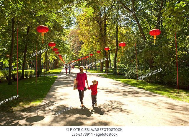 Warsaw. Lazienki Park