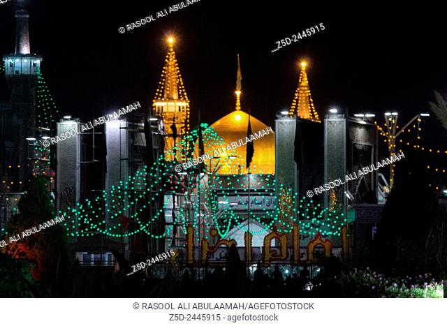 It is the shrine of eighth imam to the Shiite sect and is located in the city of Mashhad. And contains a huge golden dome and a number of minarets aureus and...