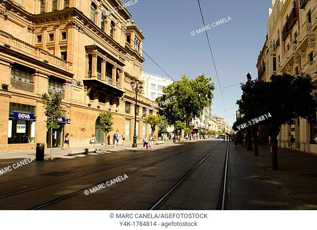 Europe, Spain, Sevilla, Street details, urban Style, Puerta Jerez