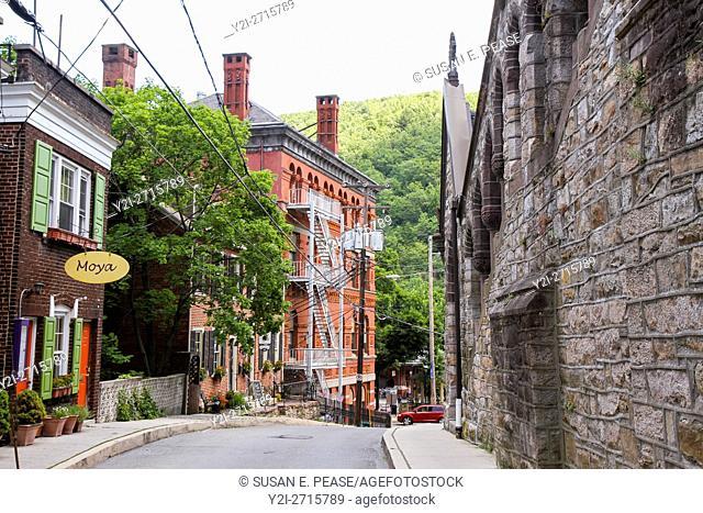 Old Mauch Chunk Historic District, Jim Thorpe, Pennsylvania, United States, North America