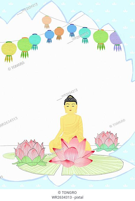 Background of Buddha's Birthday