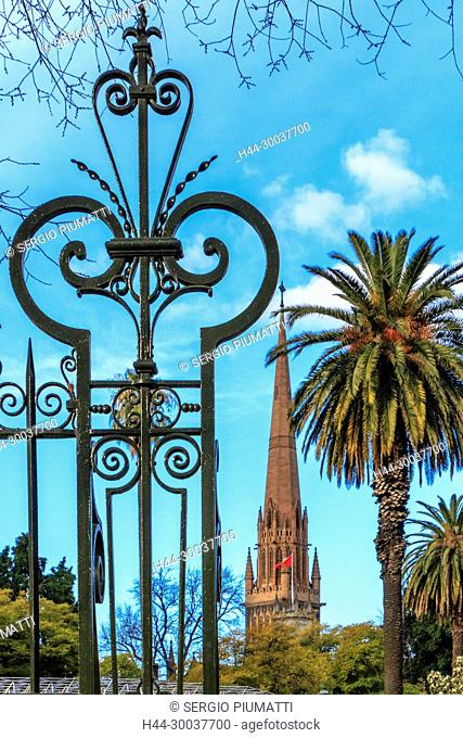 Australia, Melbourne, Parliament Gardens, Roman Catholic Archdiocese, St Patrick's Cathedral, Victoria, cast iron, minor basilica