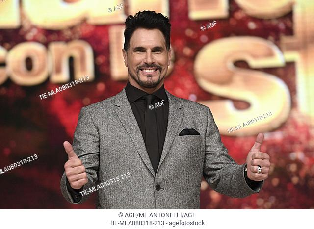 Don Diamont  during 'Dancing with the Stars' tv show, Rome, Italy 08/03/2018