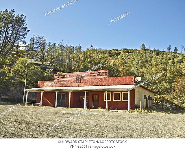 Whiskeytown General Store. Whiskeytown is currently underwater below Whiskeytown lake. The General store was relocated on Whiskey Creek Rd but was destroyed by...
