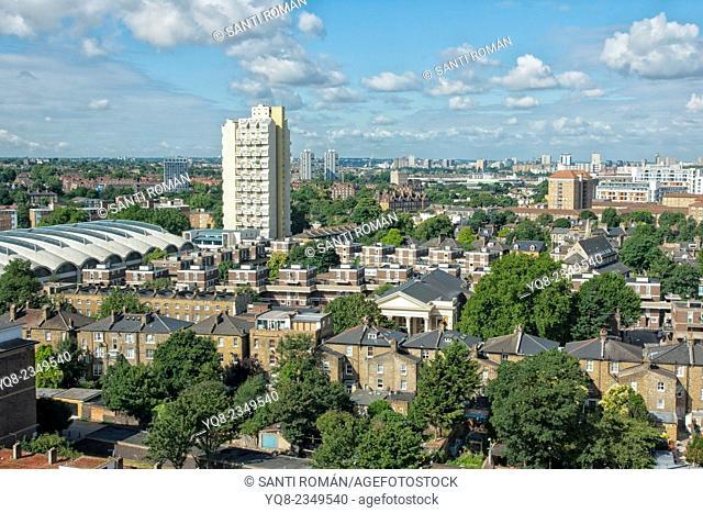 England, London, London buildings, view of london
