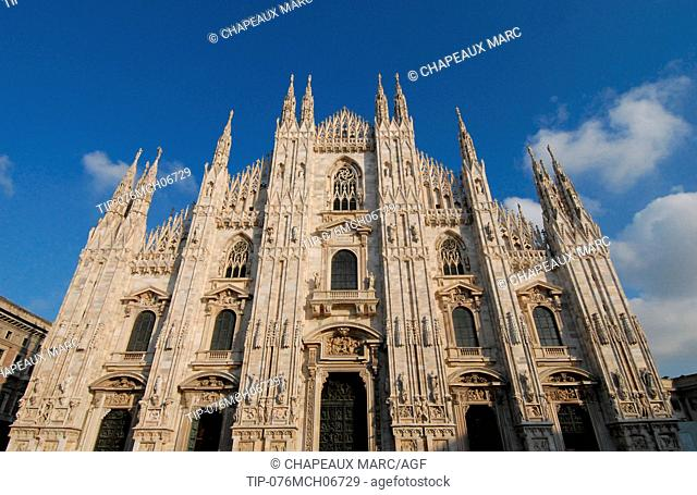 Europe , Italy , Lombardy , the Duomo , Cathedral of Milan