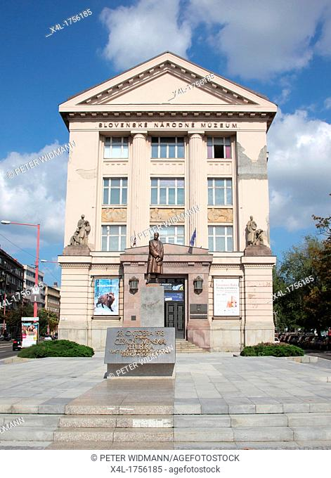 Slovak National Museum in Bratislava, Slovakia