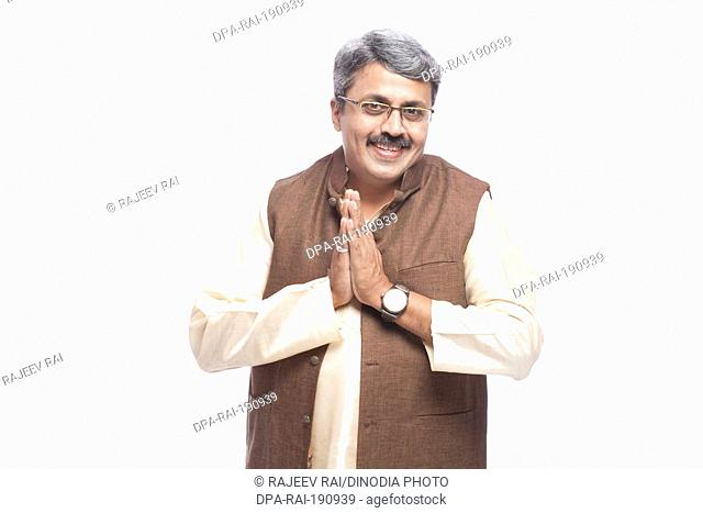 man politician and greeting India Asia MR#790G