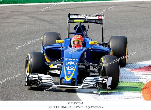 02.09.2016 - Free Practice 1, Felipe Nasr (BRA) Sauber C34