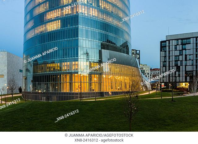 Iberdrola Tower, Bilbao, Biscay, Basque Country, Euskadi; Spain, Europe