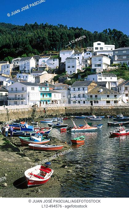 O Barqueiro. La Coruña province, Galicia, Spain
