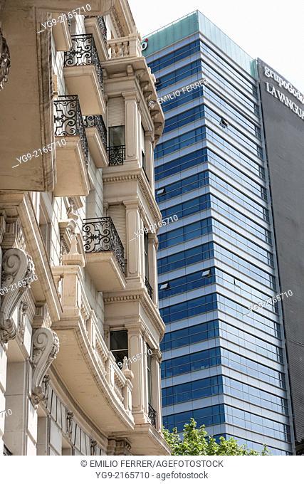 Buildings in Barcelona. Spain