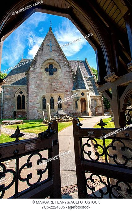 Luss Parish Church is a Church of Scotland , Argyll and Bute. The present church building was constructed in 1875, and subject to major restoration works in...