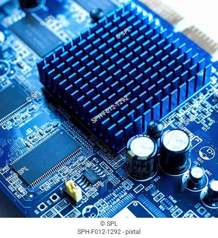 Circuit board heat sink